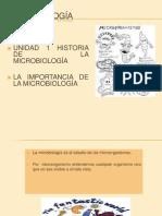 La Microbiologia y Su Importancia