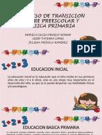 Proceso de Transicion Entre Preescolar y Basica Primaria (1)