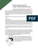 Terapia Qigong de Automasaje y Digitopuntura
