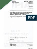NBR 15258 - 2005 - Resistência de Aderência à tração.pdf