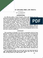 Los pastos de Ecuador, Perú y Bolivia. Hitchcock A. S.