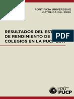 [2017] Resultado Del Estudio de Rendimiento de Colegios en La PUCP
