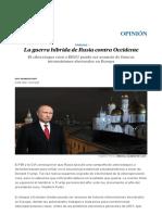 Rusia en Occidente_el País España