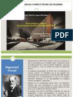 8. Psicoanálisis y Cultura. La Teoría Psicoanalítica de Sigmund Freud