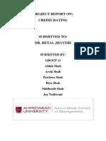 Credit Rating GROUP 11