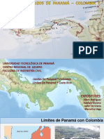 Límites Fronterizos Panamá