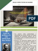 7.2.- Fundamentos de La Sociología Científica. La Acción Social de Max Weber