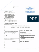 Vaughn v. Tesla, Inc. Complaint - File Stamped Copy