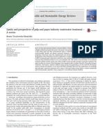 El efecto de la industria del papel y la pulpa en el agua