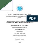 Tesis - Propuesta Tecnico Economica Para Mejorar Los Carros de Transferencia de Astinave