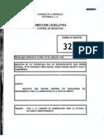Proyecto de Ley Del Indulto