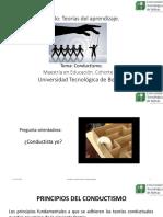 Teorías conductistas de aprendizaje_Cohorte VI.pptx
