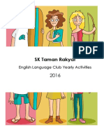 English Club Booklet