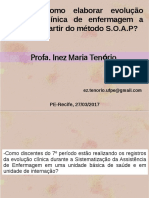 Evolucao-clinica SOAP 2017 Inez
