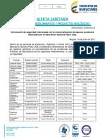16-06-2017-Información de Seguridad Relacionada Con La Comercialización de Algunos Productos