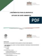 Guía para la Evaluación Del Daño Ambiental
