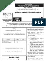 F11 T - Professor PNS-P2- Língua Portuguesa FUNCAB