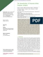 CLEMENT, C. Et.al. 2015. the Domestication of Amazonia Before European Conquest