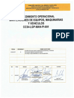 CC54-LGP-MAN-PI-001 Mantencion de Equipos y Vehiculo Rev.0
