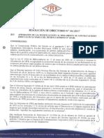 RES-DIR-050-17 Modif. Reglamento DS. 29506 Adj 150817