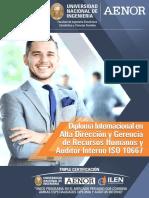 Diploma Internacional en Direccion y Gerencia de Recursos Humanos 5
