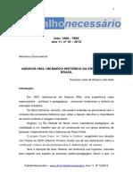 TN 1609 - Documentos e Memórias Francisco José Da Silveira Lobo Neto (1)