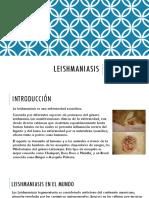 Leishmaniasis UNITEPC Medicina Cochabamba