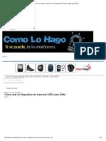 Cómo Lo Hago _ Cómo Usar Un Dispositivo de Memoria USB Como RAM