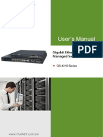 Planet Networks GS-4210-8P2T2S Manual1