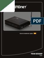 Manual TEW-650AP configuracion