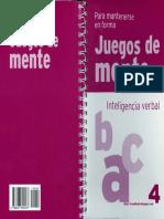 Juegos de Mente 4. Inteligencia Verbal.pdf