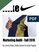 Final Nike Marketing Audit