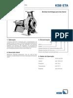 Manual Técnico e Curvas Caract Bombas KSB Linha ETA
