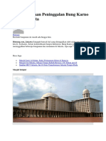 Ini 6 Bangunan Peninggalan Bung Karno Untuk Jakarta