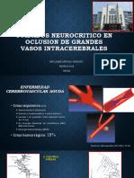 Cuidados Neurocritico en Occlusion de Grandes Vasos Expo Uci 2017