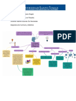 Mapa - Cuadro y Texto Sobre El Currículo y La Didáctica