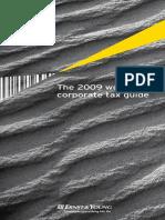 WCTG 2009 Worldwide Corporate Tax Guide