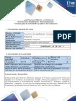 Guía de Actividades y Rubrica de Evaluacion - Fase 4 - Discusion.