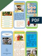 Leaflet Higiene Dan Sanitasi Makanan