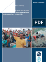 Best Practices to Support and Improve Livelihoods of Smale-scale Fisheries and Aquaculture Households