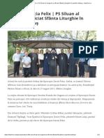 Episcopia Dacia Felix _ PS Siluan Al Ungariei a Oficiat Sfânta Liturghie În Parohia Seleuș - Basilica