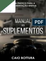 Manual Dos Suplementos - Caio Bottura