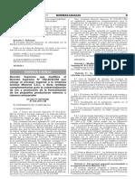 DS 034-2017-EM Formalizacion Minera