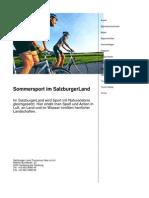 Sommersport im SalzburgerLand