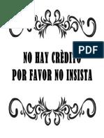 Formato de Anuncio en español para negocio