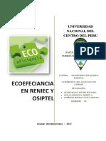 Ecoeficiancia Reniec Osiptel (1)