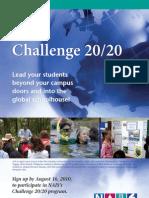 Challenge 2020 Brochure 2011