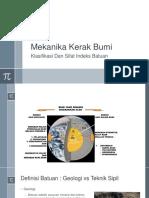 02_Klasifikasi Dan Indek Sifat Fisika Batuan