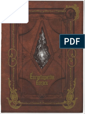 Encyclopedia Eorzea Compressed | Continent | New World