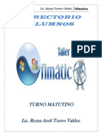 Directorio Alumnos